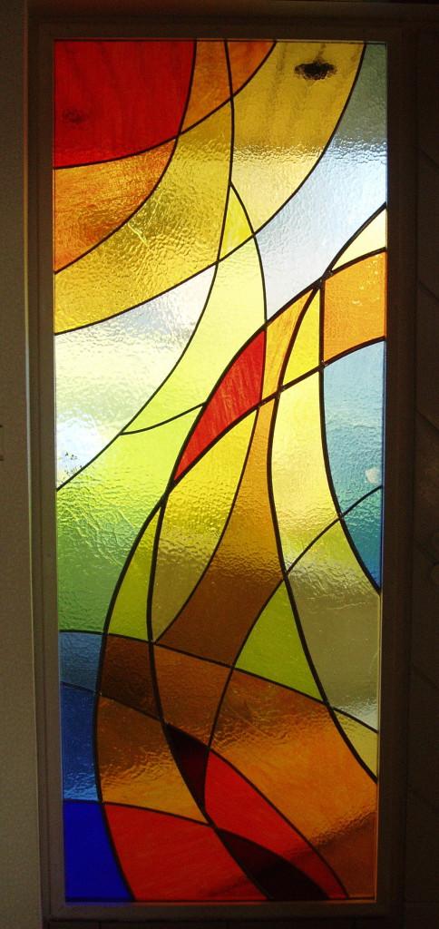 vitrail abstrait vitraux d 39 art vanessa dazelle. Black Bedroom Furniture Sets. Home Design Ideas