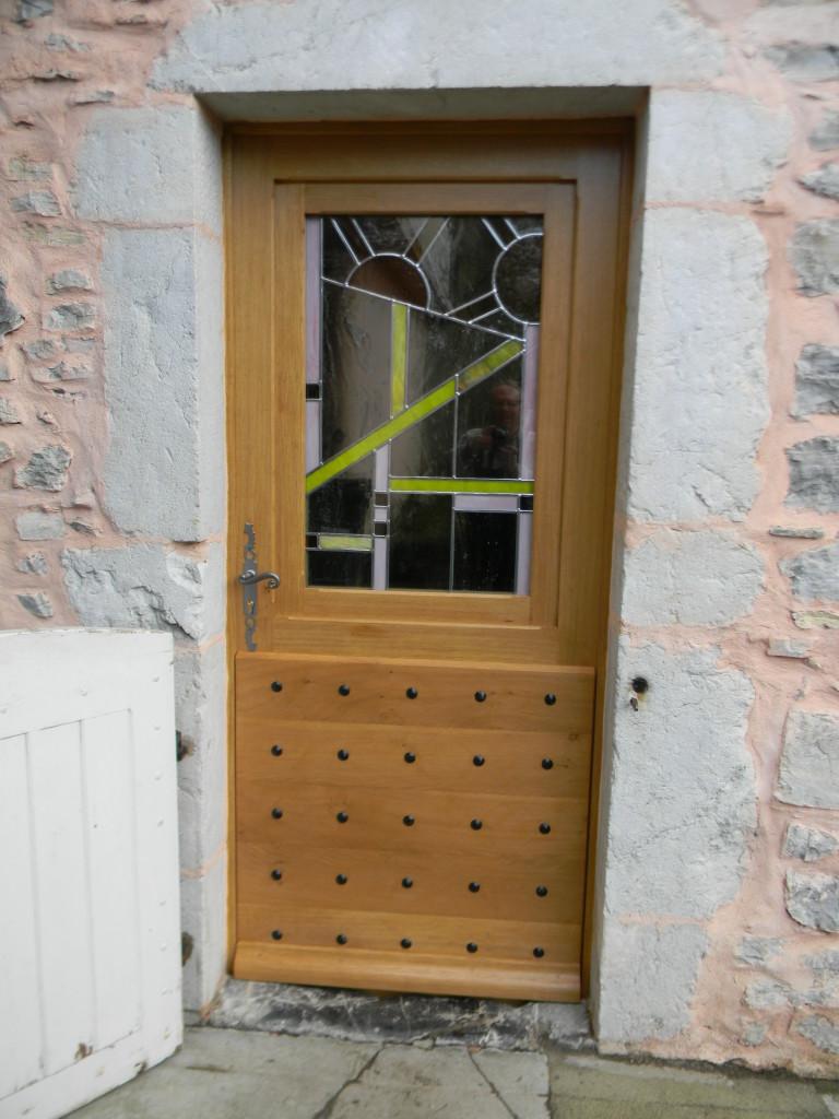 Vitrail porte d entr e contemporaine 11 vitraux d 39 art vanessa dazelle - Porte d entree avec vitrail ...
