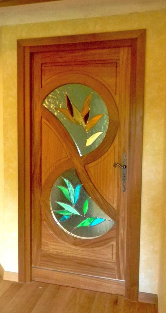 Vitrail porte d entr e contemporaine 3 vitraux d 39 art vanessa dazelle - Porte d entree avec vitrail ...