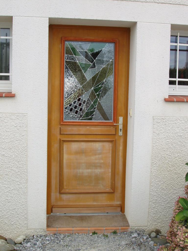 vitrail porte d entr e contemporaine 8 vitraux d 39 art vanessa dazelle. Black Bedroom Furniture Sets. Home Design Ideas
