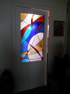 Galerie vitraux d 39 art vanessa dazelle - Vitraux decoration interieure ...