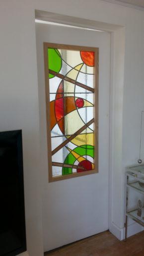 vitrail abstrait biarritz