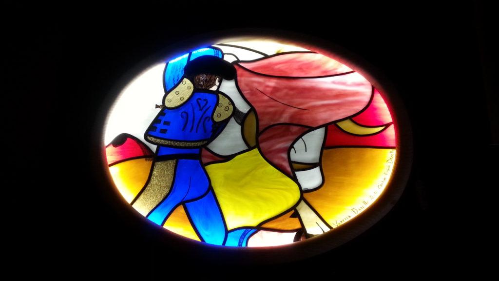 Vitrail et objets de décoration en fusing les angles gard vaucluse