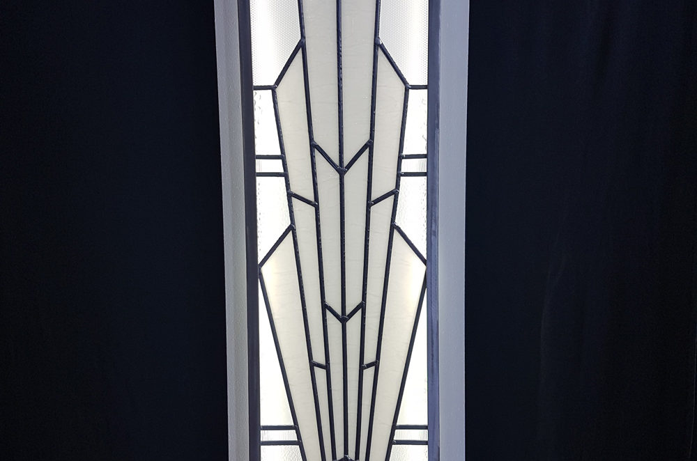 Applique geante art deco vitraux d art vanessa dazelle