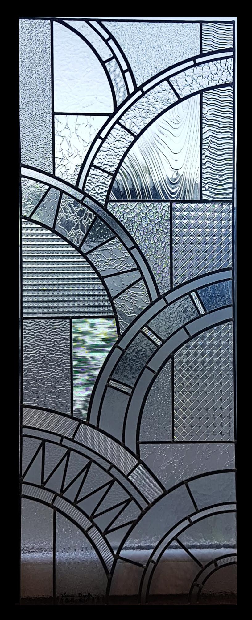 vitrail art d co isturiz vitraux d 39 art vanessa dazelle. Black Bedroom Furniture Sets. Home Design Ideas